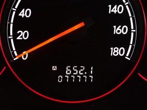 総走行距離が77777キロになったよ!